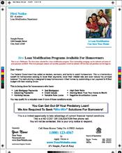 Loan Modification Mailers