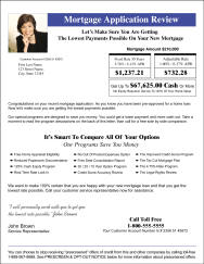 Mortgage Loan Modification Mailer 2