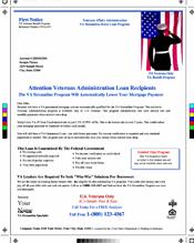VA Streamline Mailers